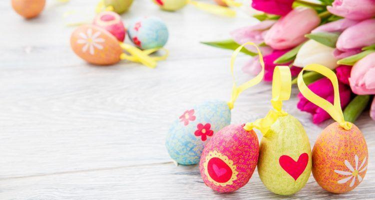 8 decorazioni originali per le uova di pasqua bigodino - Uova di pasqua decorazioni ...