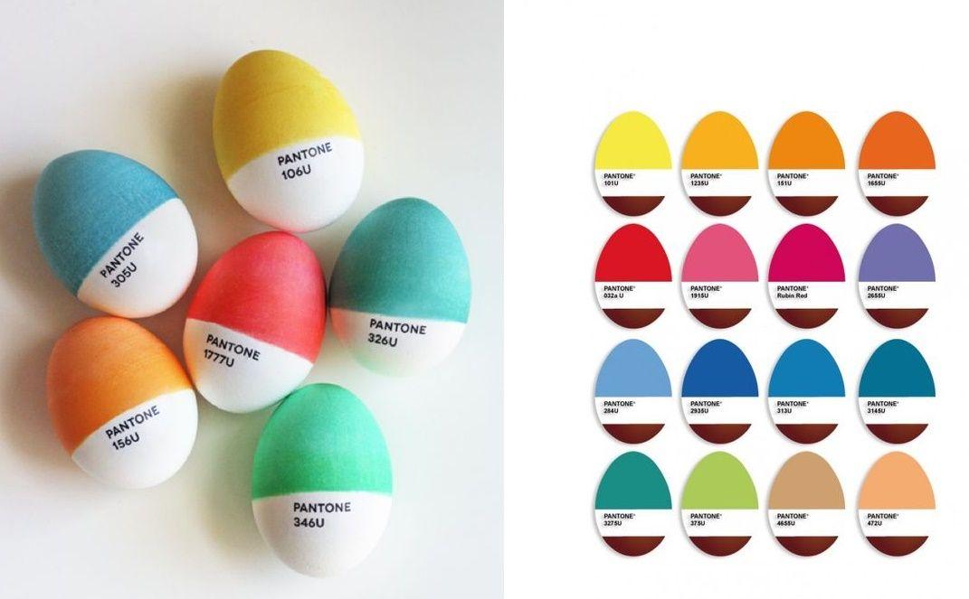8 decorazioni originali per le uova di pasqua bigodino - Uova di pasqua decorate per bambini ...