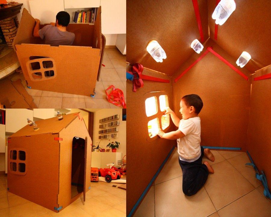 Come realizzare una casetta per bambini - Pianeta Design