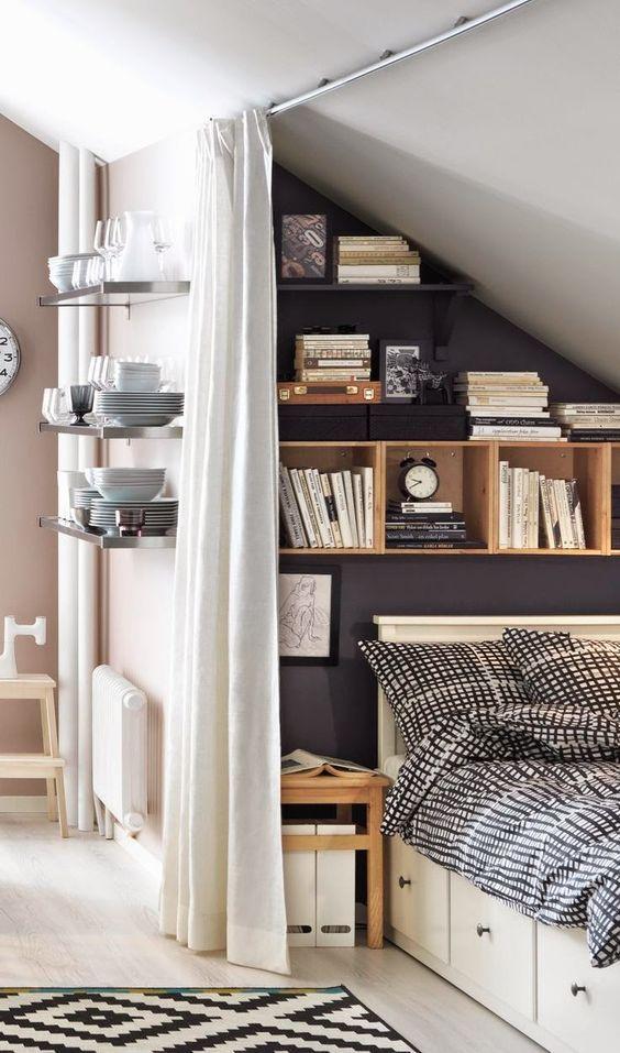 5 idee per arredare camere da letto piccole | bigodino - Camere Da Letto Piccole