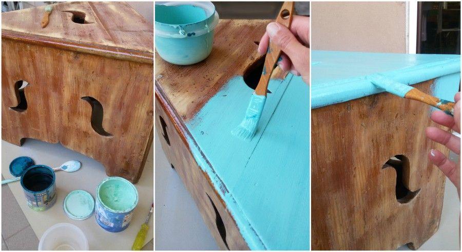 Dipingere mobili vecchi xw84 regardsdefemmes - Ridipingere un mobile ...