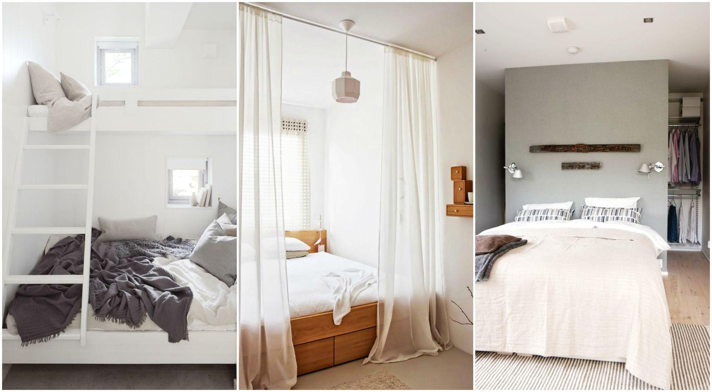 Idee per camere da letto piccole design for Camere da letto piccole