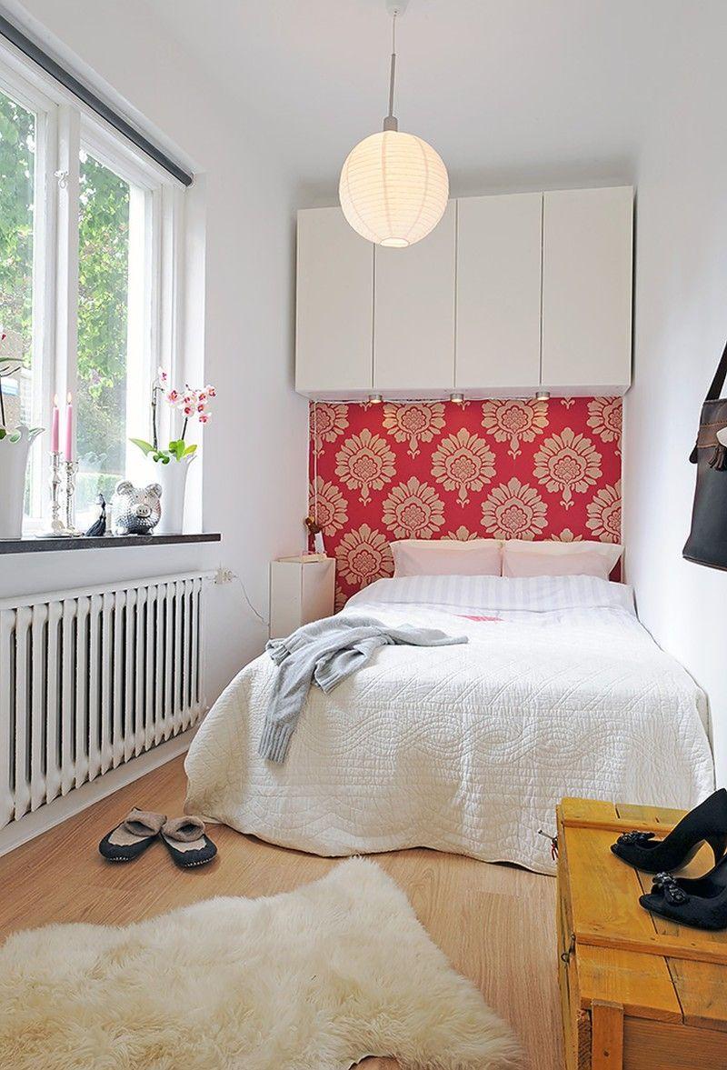 5 idee per arredare camere da letto piccole bigodino for Greche adesive per camere da letto
