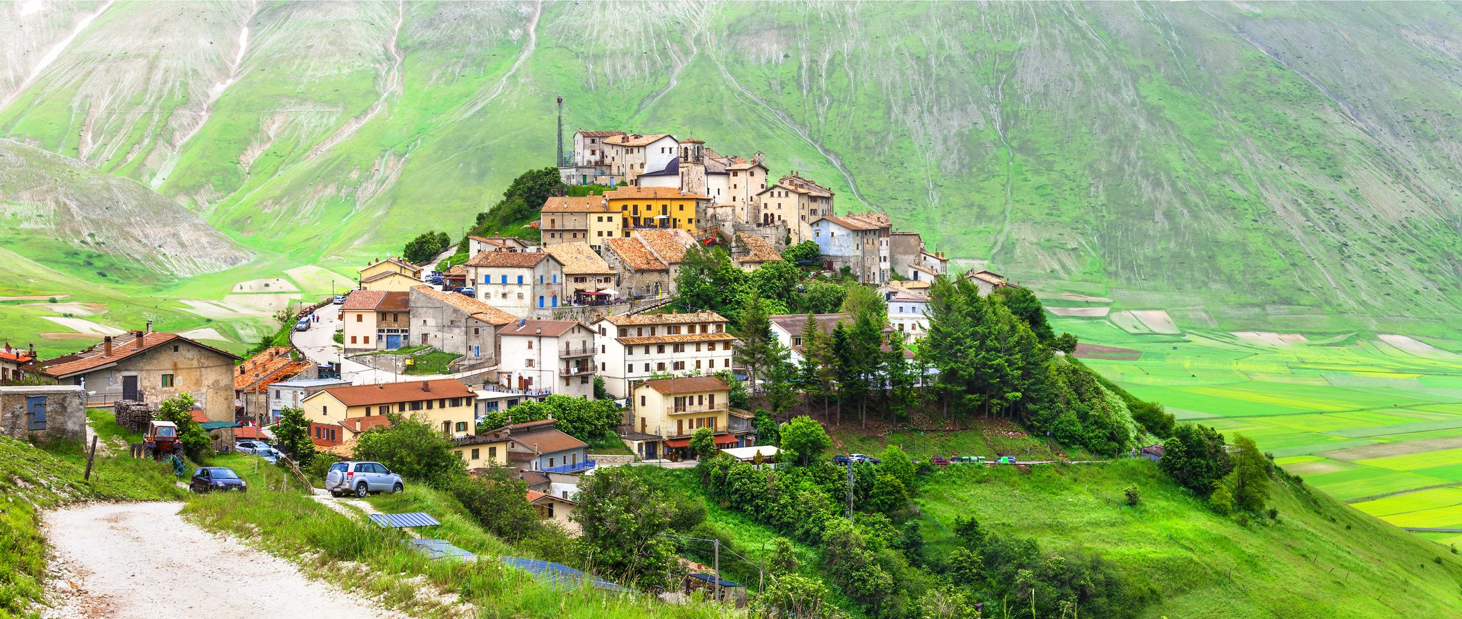 Castelluccio di Norcia -one of the most beautiful villages in Italy