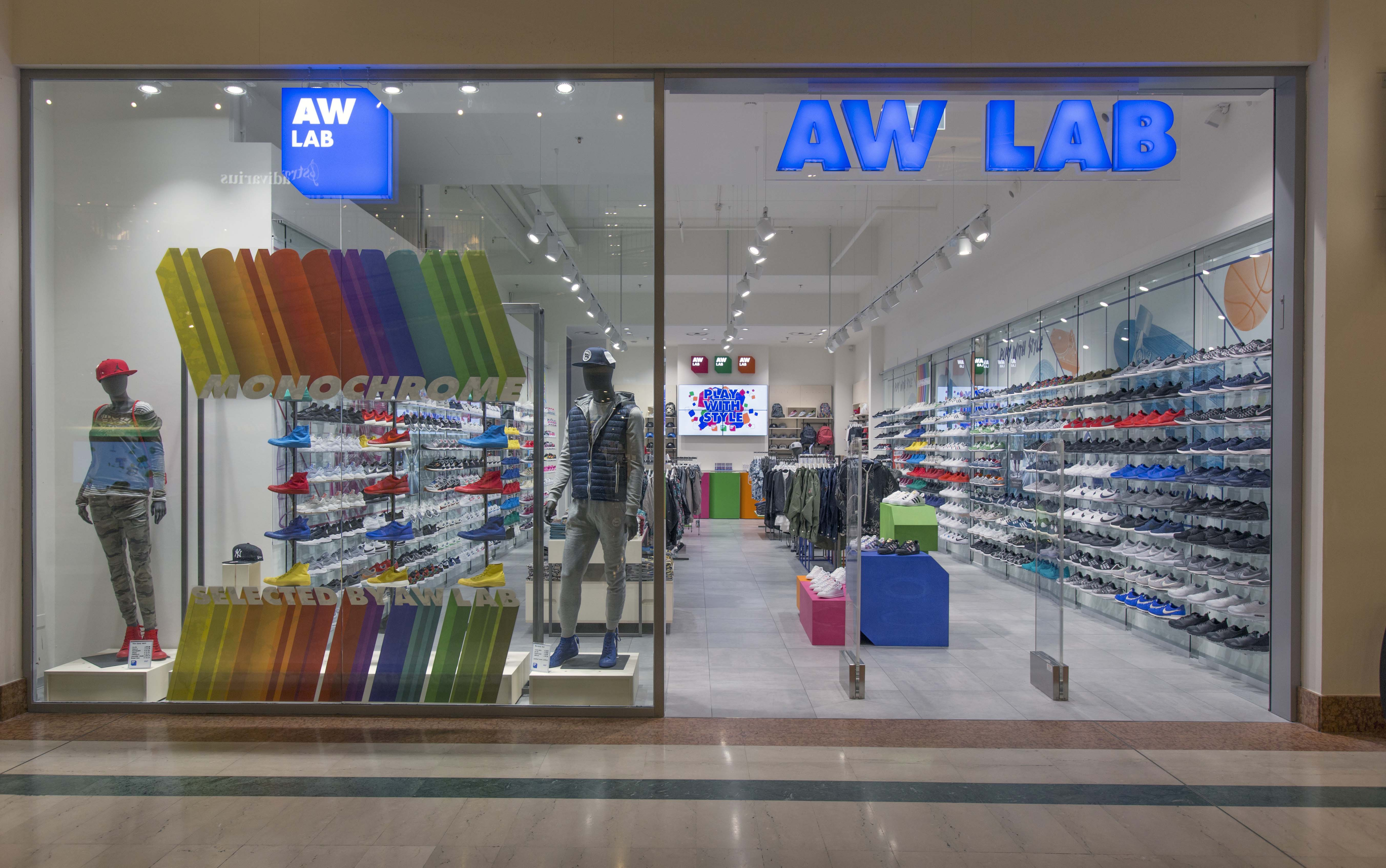 AW LAB store