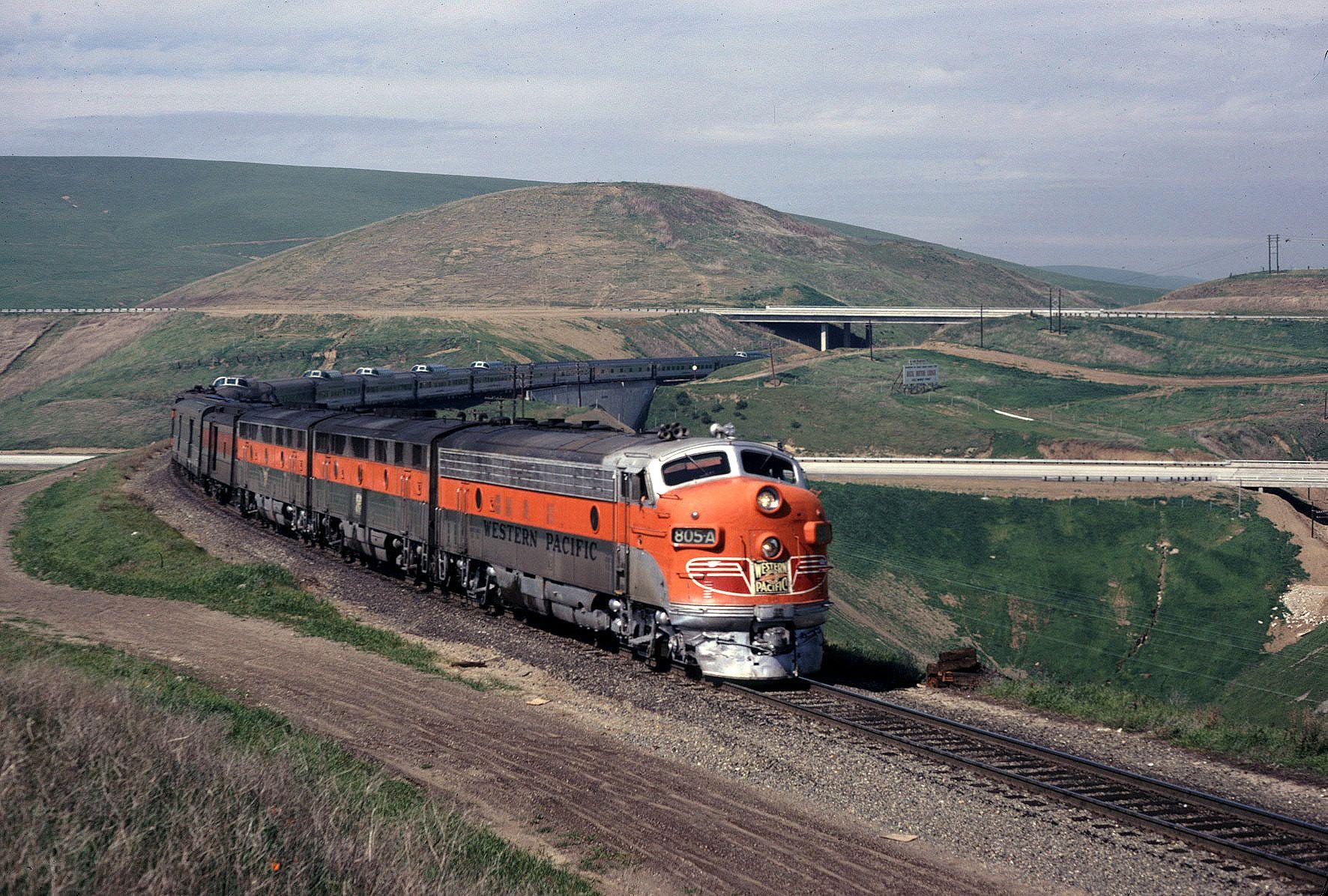 California Zephyr Train