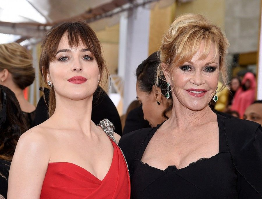 Melanie Griffith e Dakota Johnson