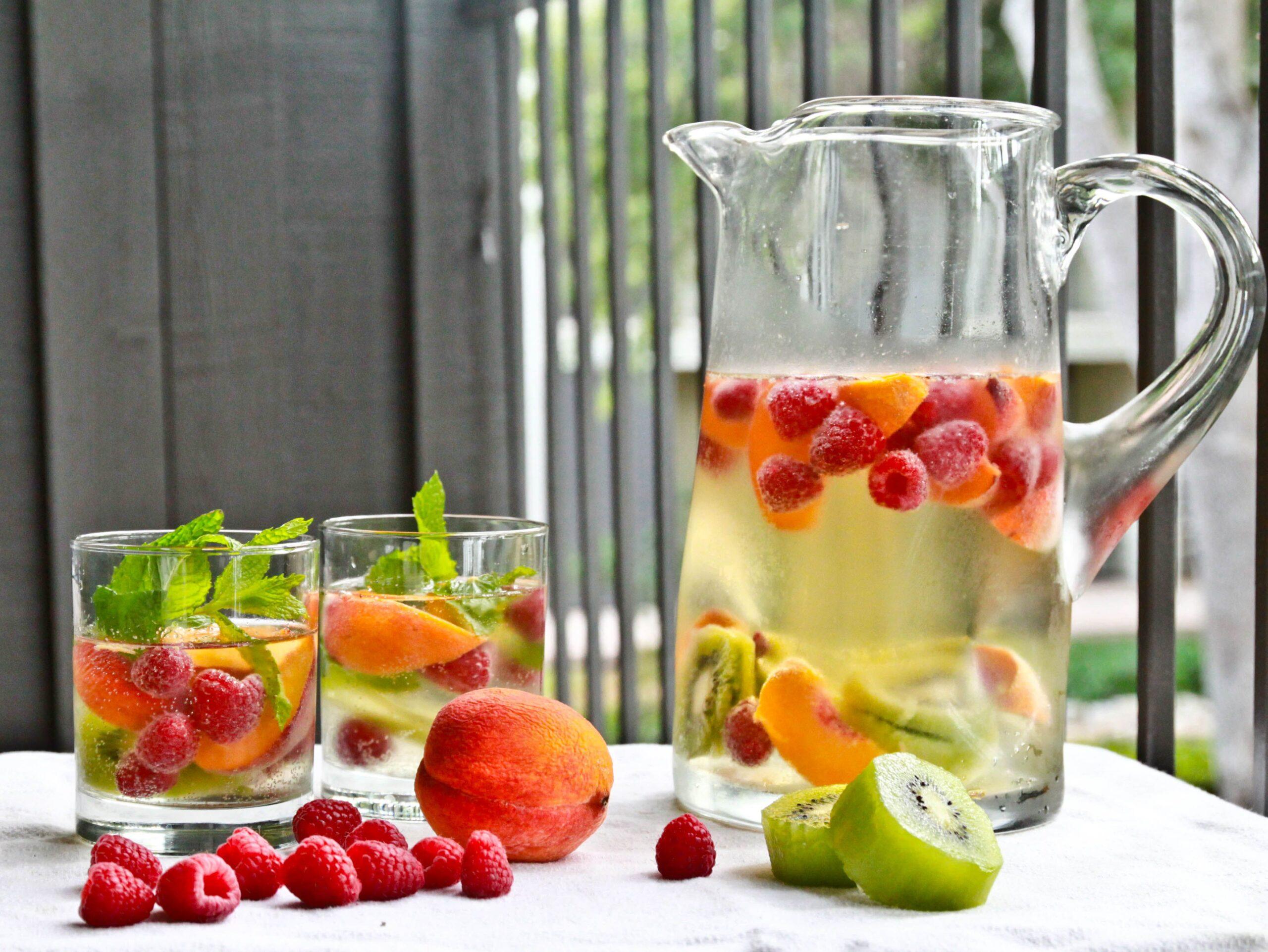 5 drink dissetanti a base di acqua e frutta
