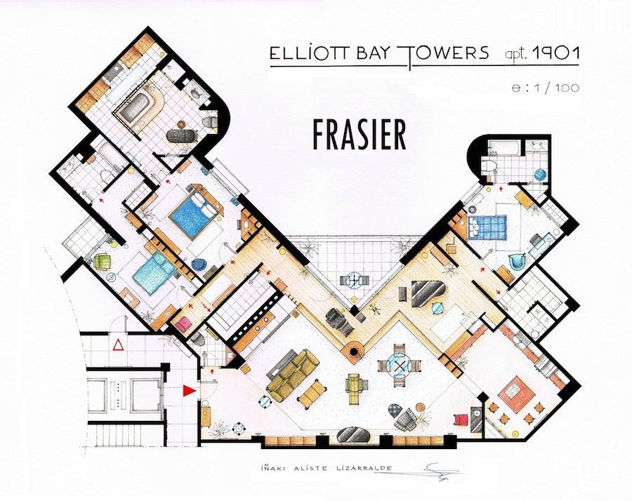 Floor-Plans-of-Your-Favorite-TV-Shows8