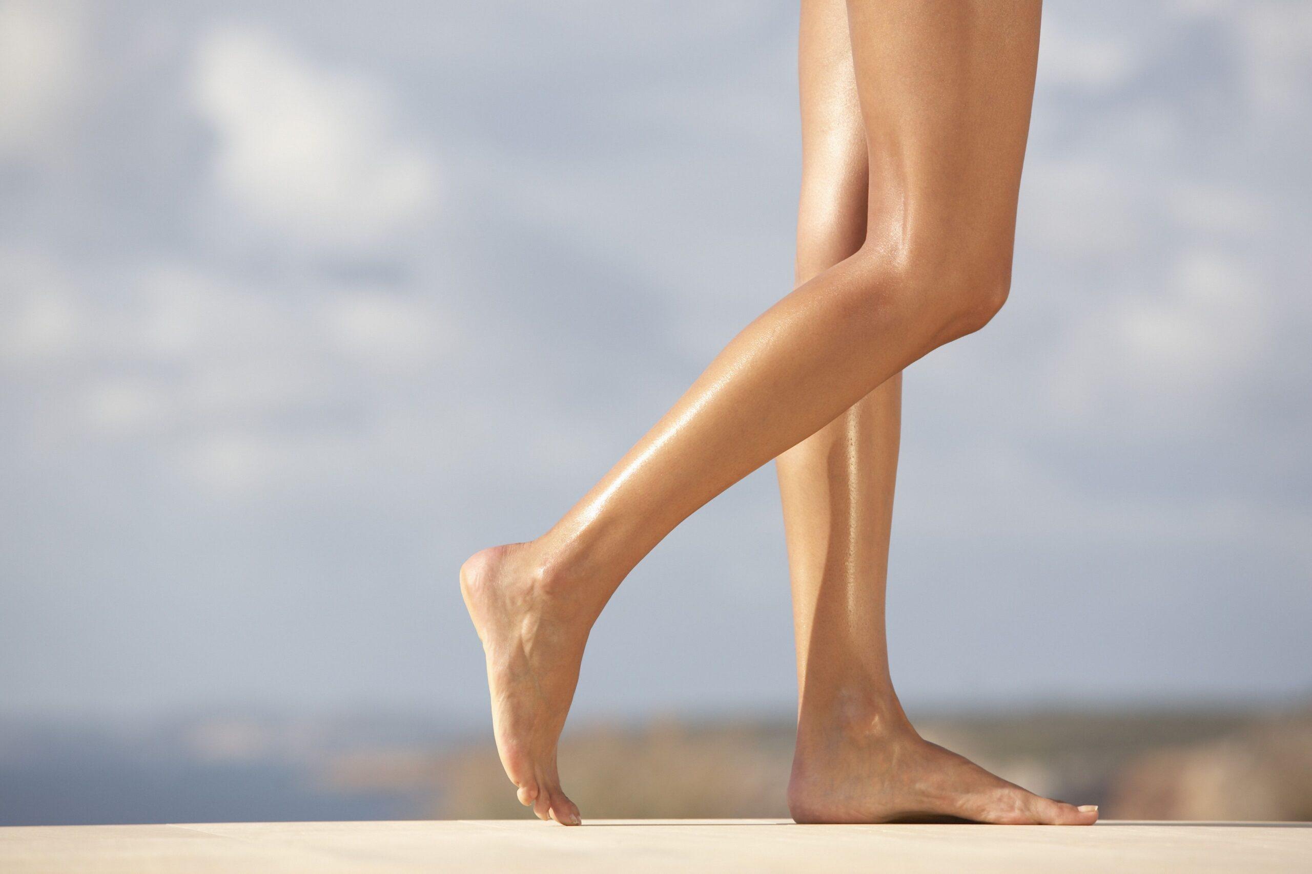 4 trucchi per snellire le caviglie