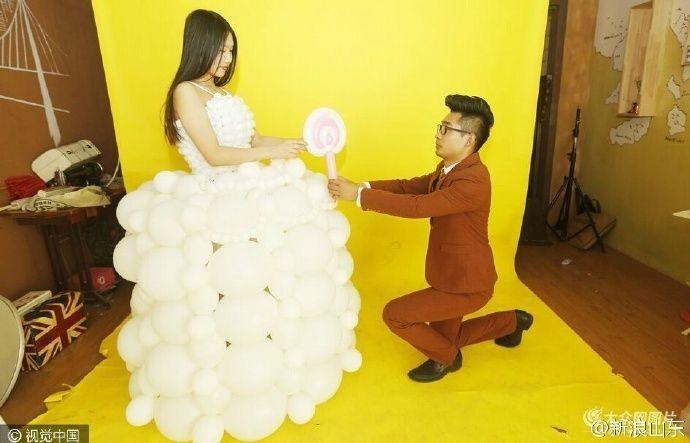 L'abito da sposa in versione bianco