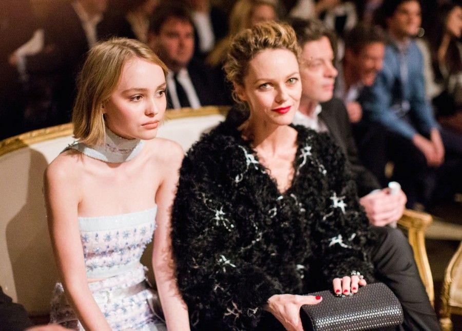 Lili Rose Depp e Vanessa Paradis