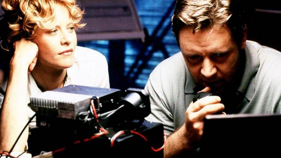 Meg Ryan e Russell Crowe in Rapimento e riscatto