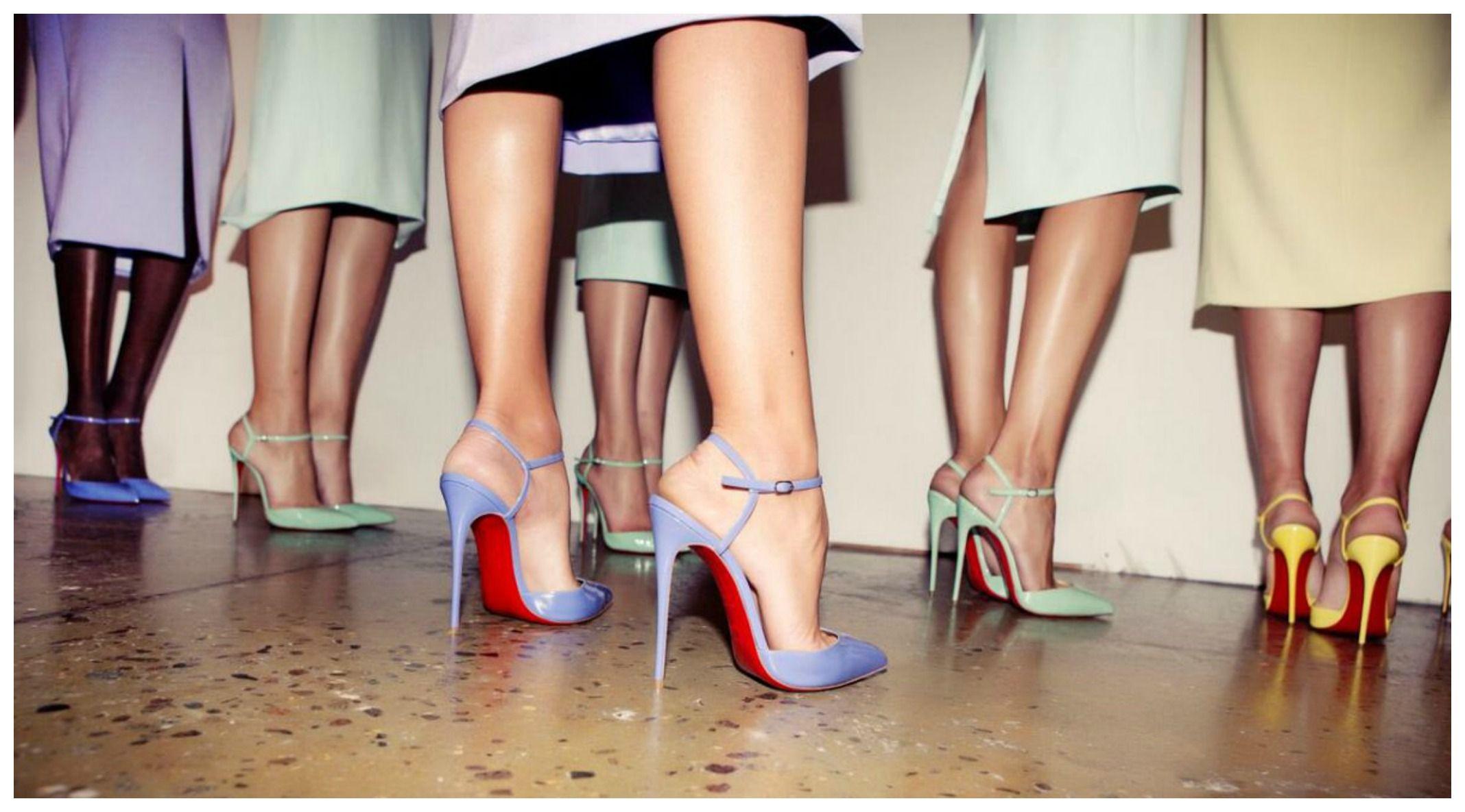 La storia delle scarpe con i tacchi