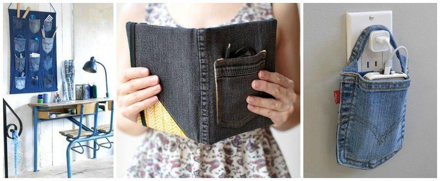 Riciclare vecchi jeans per creare qualcosa di molto trendy for Regalo oggetti vecchi