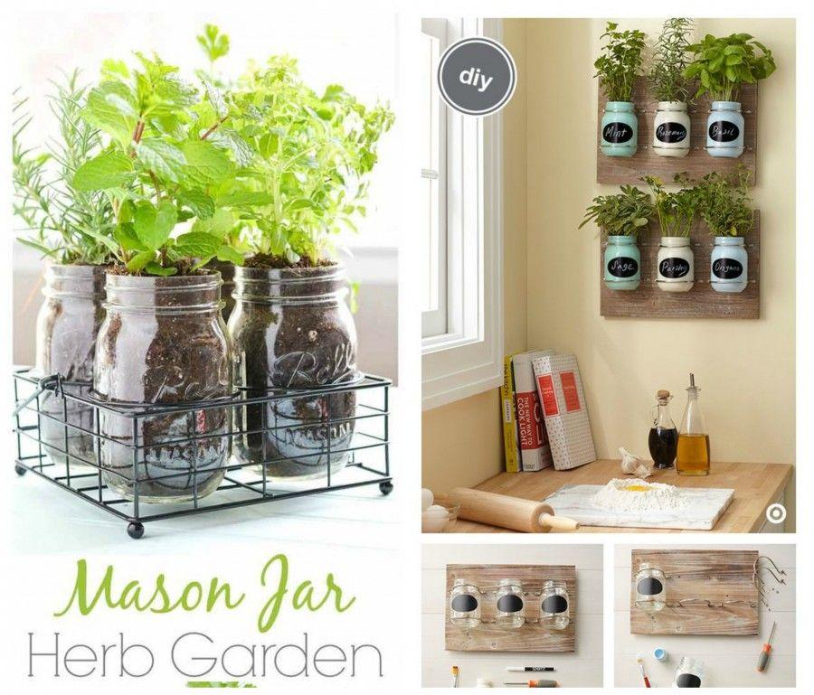 Come decorare la tua cucina con le erbe aromatiche bigodino for Come ottenere progetti di casa tua