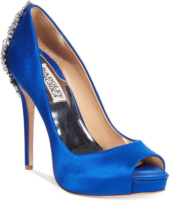 Scarpe Con Tacco Blu Elettrico pigliaru.it bc6d7898e64