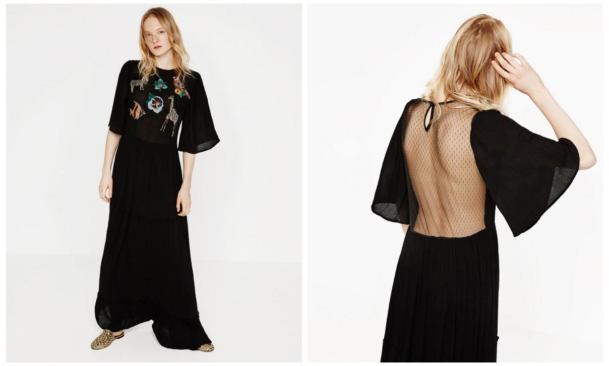 Zara maxi dress: come innamorarsi di un vestito!