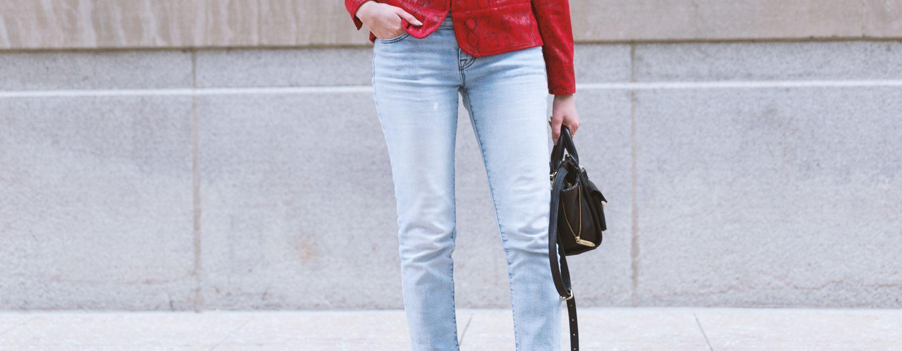 Come indossare i jeans skinny questa primavera