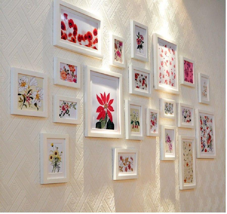 6 idee per appendere quadri e decorare una parete bigodino - Idee decoro casa ...