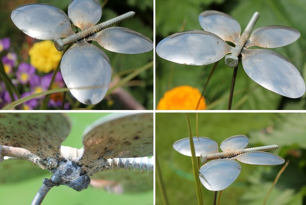decorazioni-giardino-farfalle-cucchiai