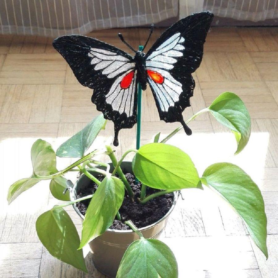 decorazioni-giardino-farfalle-piante