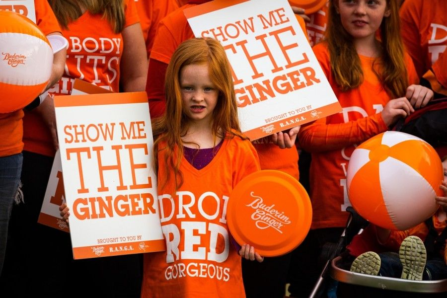 orgogliosamente ginger!