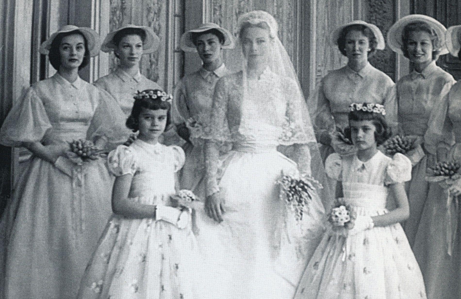 6 cose che forse non sai dell'abito da sposa di Grace Kelly