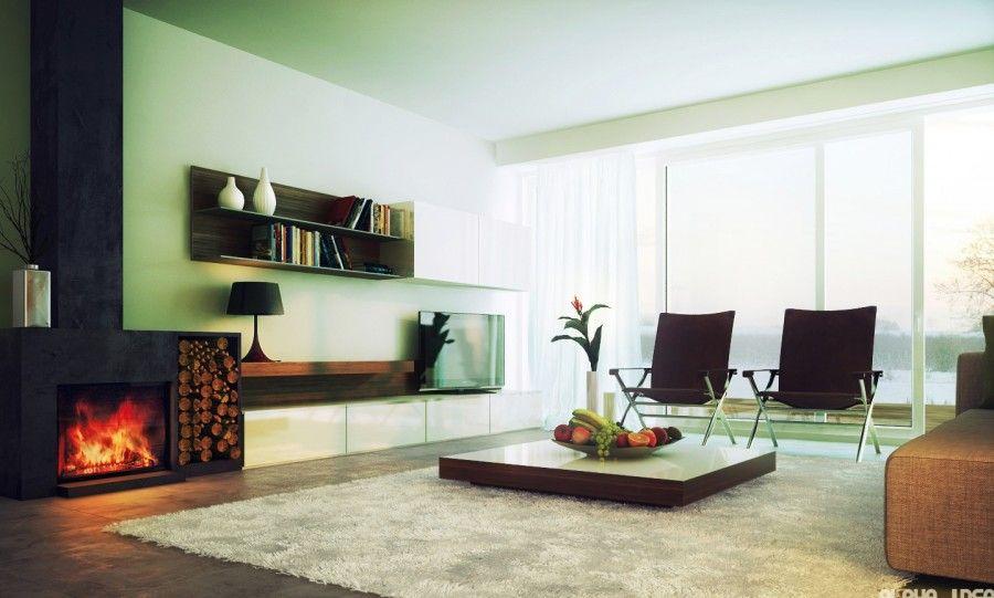 Living room verde