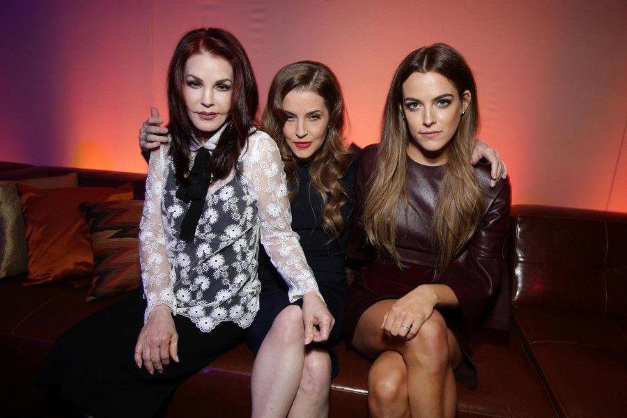 Priscilla Presley, Lisa Marie Presley e Riley Keough