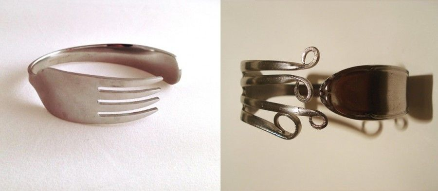 Super Riciclare posate, creazioni preziose e funzionali | Bigodino KH75