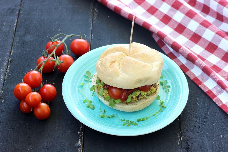 Hamburger vegani di Jamie Oliver