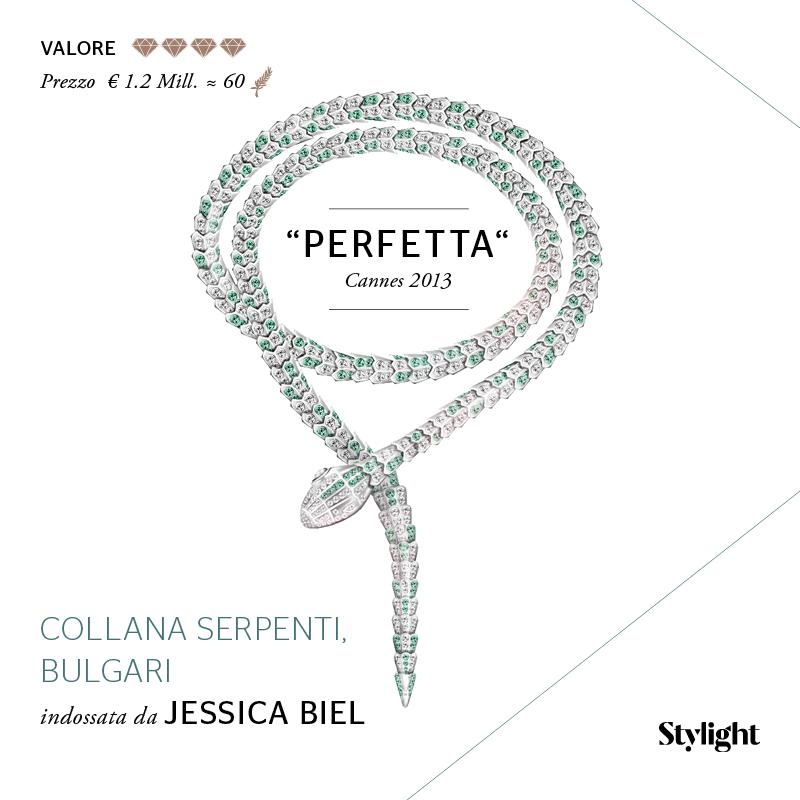 5. Gioielli di Cannes - Jessica Biel (Stylight)