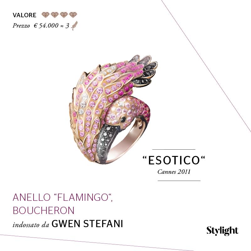 7. Gioielli di Cannes - Gwen Stefani (Stylight)