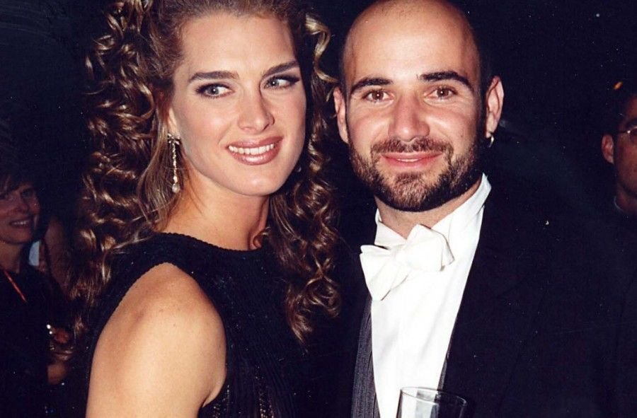 Andre Agassi & Brooke Shields