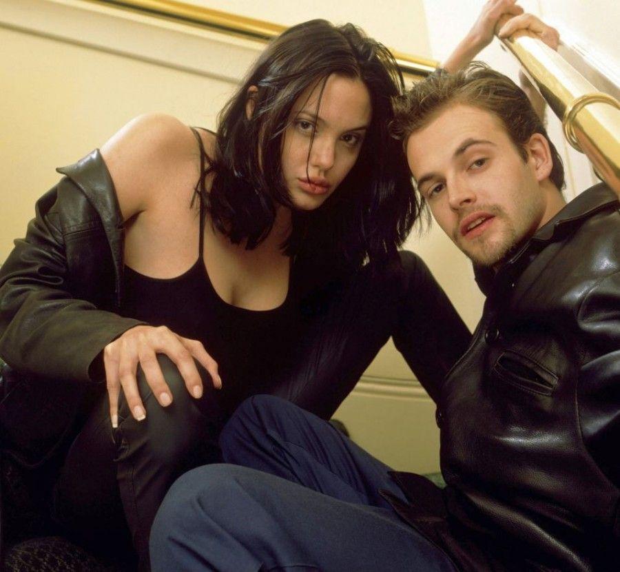 Angelina Jolie e Johnny Lee Miller