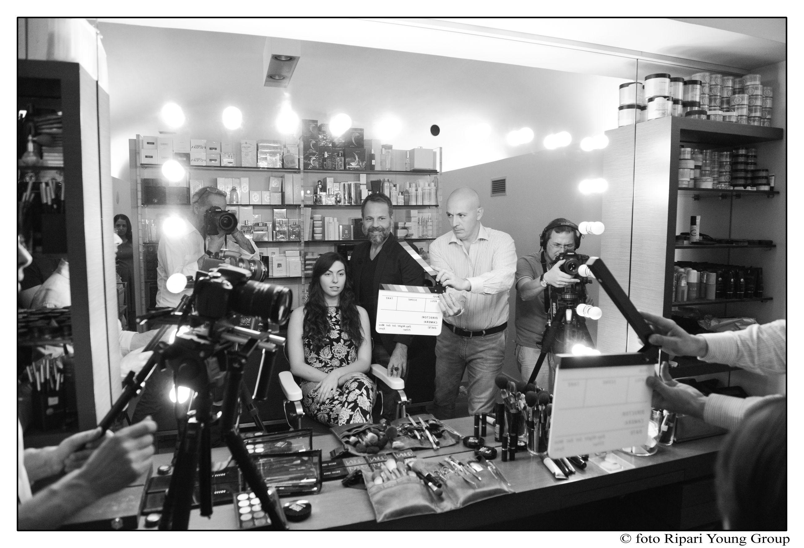 foto di RIPARI YOUNG GROUP, direttore di produzione Paolo Marra , regia Enrico Ripari, operatori Giuseppe e Hakim