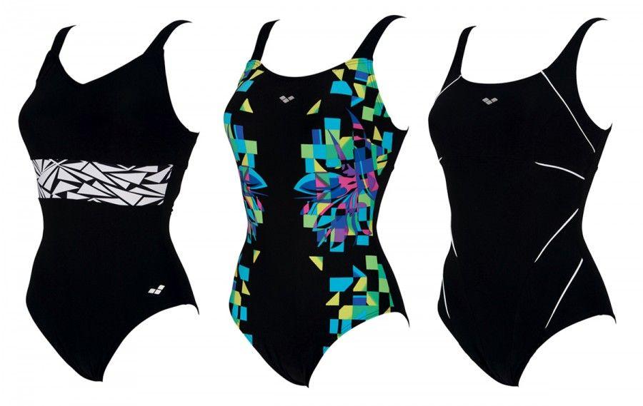 I costumi da piscina che modellano il corpo bigodino - Costumi piscina arena ...