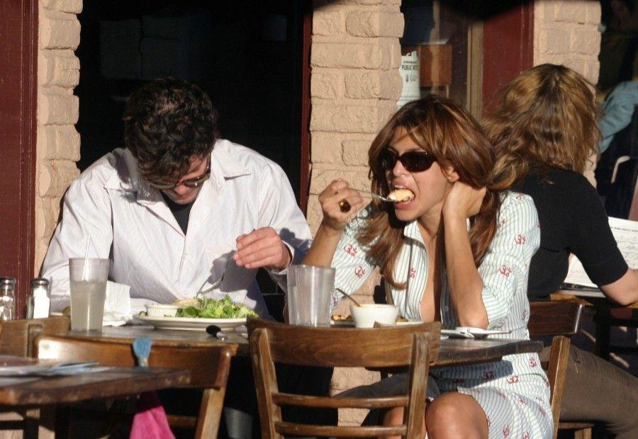 Eva Mendes e la dieta