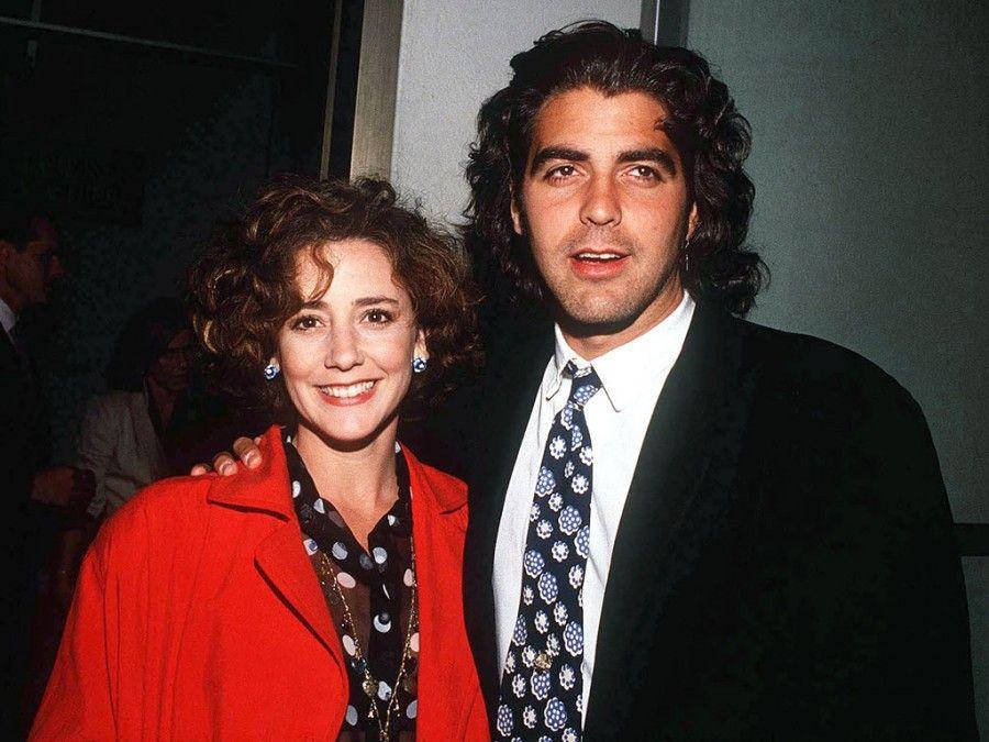 George Clooney e Talia Balsam