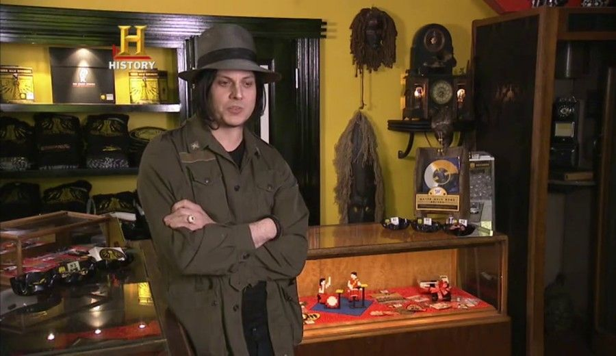 Jack White ad American Pickers