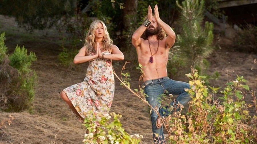Jennifer Aniston e Justin Thereoux in Nudi e felici