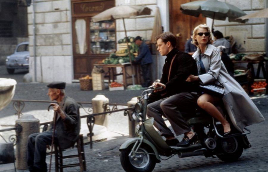 La vespa in Il talento di mr Ripley