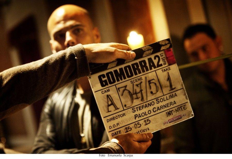 Le riprese di Gomorra2