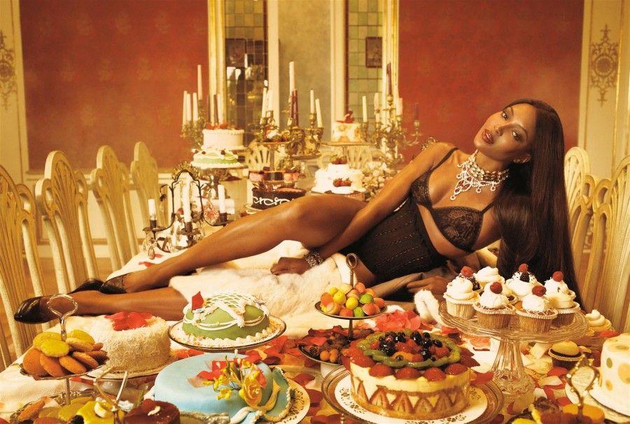 Naomi Campbell e la dieta