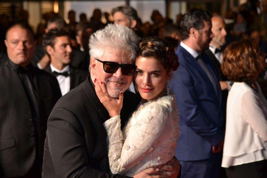 Pedro Almodovar e Adriana Agarte