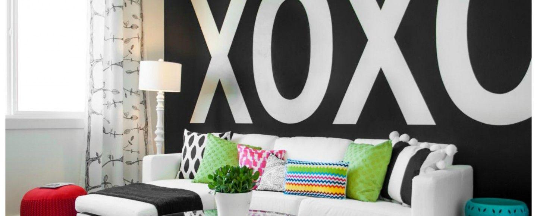 Decorare le pareti di casa con il lettering bigodino - Decorare pareti di casa ...