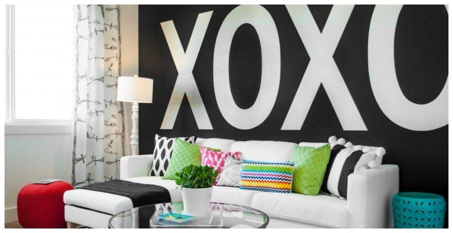Decorare le pareti di casa con il lettering bigodino for Decorare pareti di casa