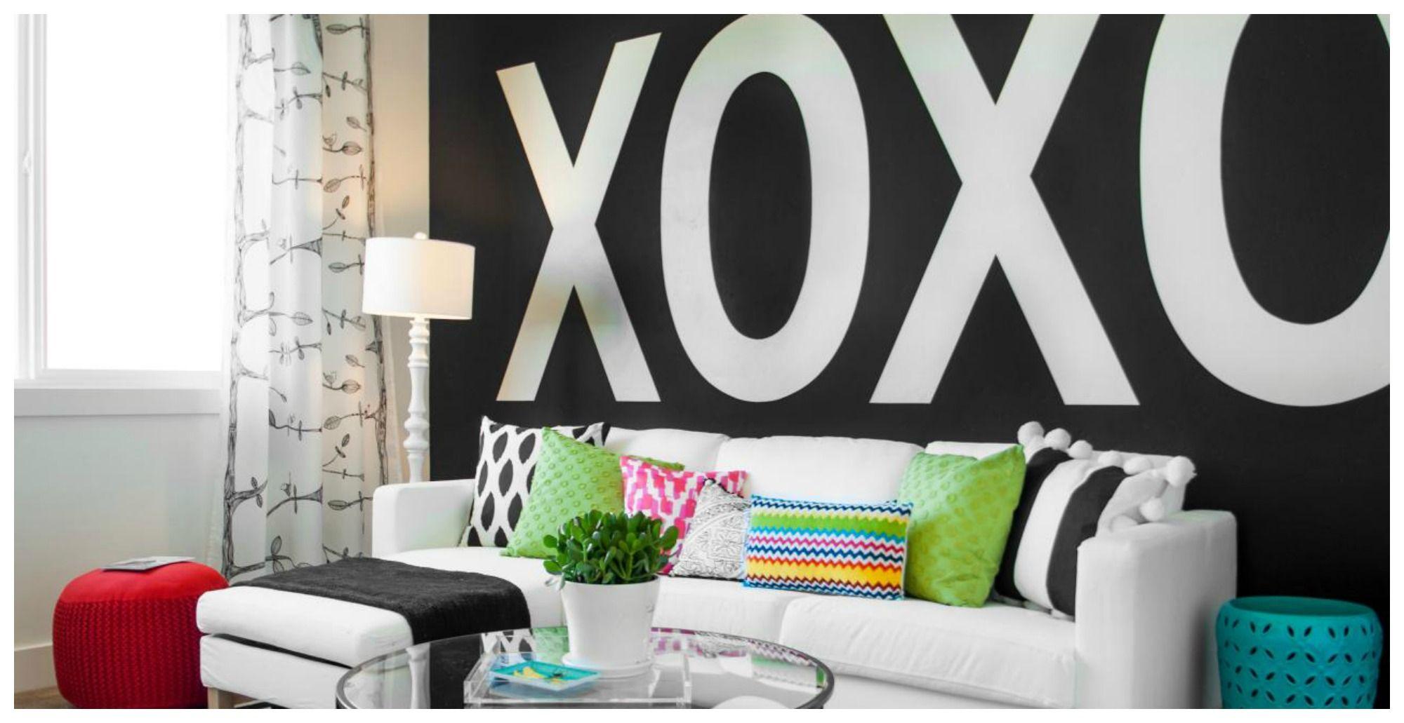 Lettere Da Appendere Al Muro decorare le pareti di casa con il lettering | bigodino