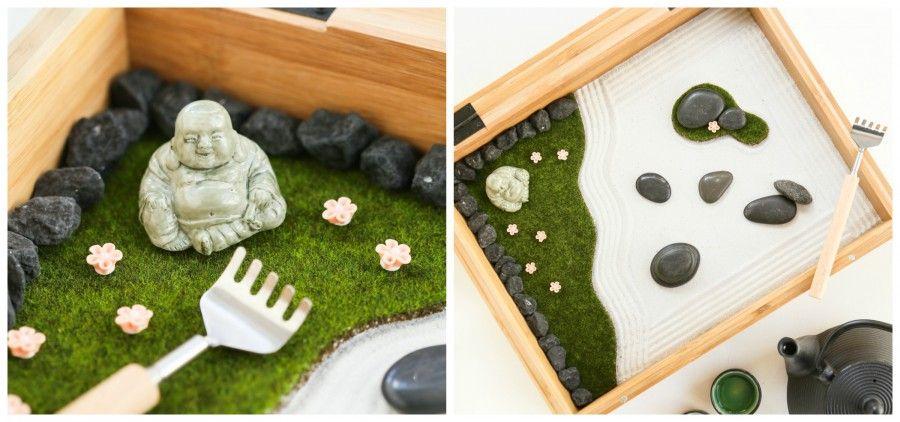 Giardino Zen Pistoia : Fare un giardino zen da tavolo idee per il design della casa